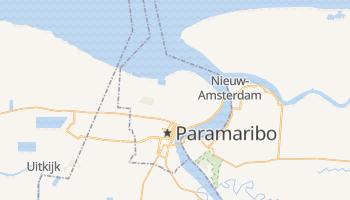 Online-Karte von Paramaribo