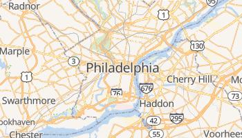 Online-Karte von Philadelphia