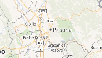 Online-Karte von Priština
