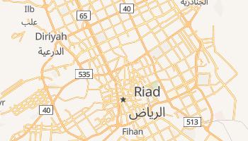 Online-Karte von Riad