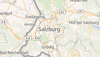 Online-Karte von Salzburg