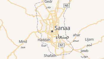 Online-Karte von Sana'a