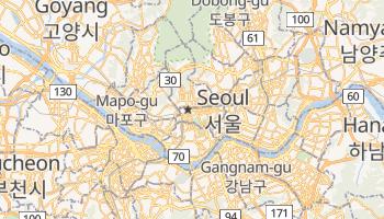 Online-Karte von Seoul