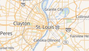 Online-Karte von St. Louis