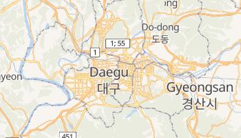 Online-Karte von Daegu