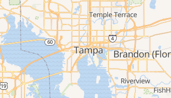 Online-Karte von Tampa