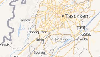 Online-Karte von Taschkent
