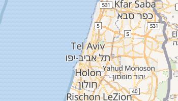 Online-Karte von Tel Aviv-Jaffa