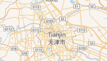 Online-Karte von Tianjin