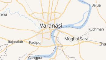 Online-Karte von Varanasi