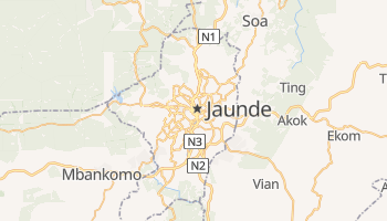 Online-Karte von Yaoundé