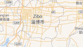 Online-Karte von Zibo