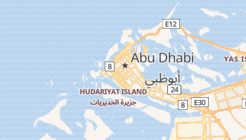 Abu Dhabi online map