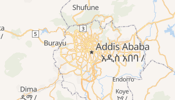 Addis Ababa online map