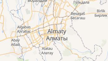 Almaty online map