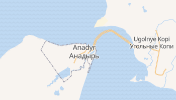 Anadyr online map