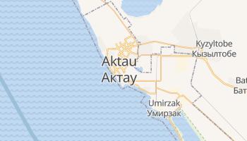 Aqtau online map