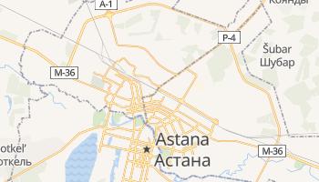 Astana online map