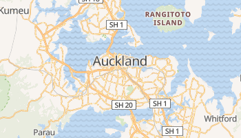 Auckland online map