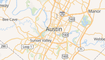 Austin online map