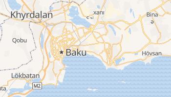 Baku online map