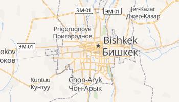 Bishkek online map