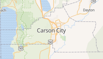 Carson City online map