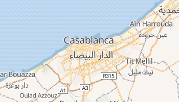 Casablanca online map
