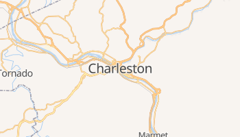 Charleston online map