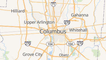 Columbus online map