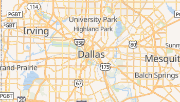 Dallas online map