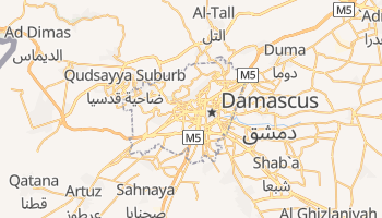 Damascus online map