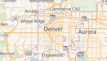 Denver online map