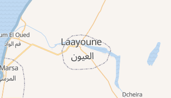 El Aaiun online map