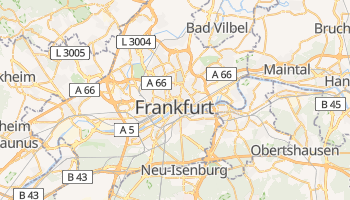 Frankfurt online map