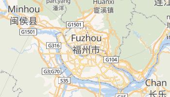 Fuzhou online map