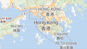 Hong Kong online map