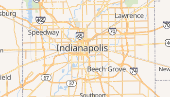 Indianapolis online map