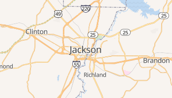 Jackson online map