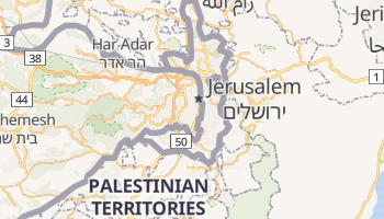 Jerusalem online map
