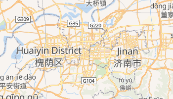 Jinan online map