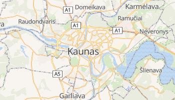 Kaunas online map
