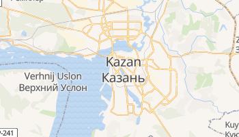 Kazan online map