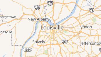 Louisville online map