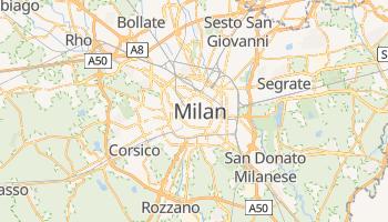 Milan online map