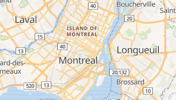 Montreal online map