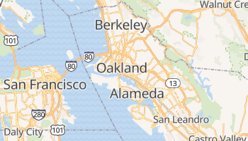 Oakland online map