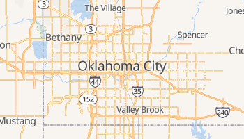 Oklahoma City online map