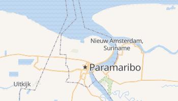 Paramaribo online map