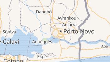 Porto Novo online map